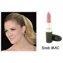 Batom Mac Lipstick, Cor Snob