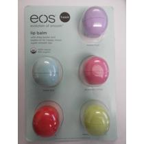 Eos Lip Balm Kit Com 5 Unidades Protetor Labial Hidratante