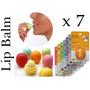 Eos Lip Balm Protetor Labial Sete Unidades Vários Sabores