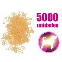 5000 Elásticos Borrachinhas Para Lacinhos De Cachorro
