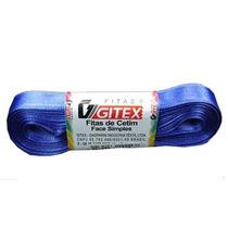 5 Rolos Fita Cetim Gitex No. 05- 23 Mm - Laços/presentes