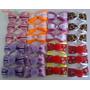 Kit Laço Cetim Luxo Para Pet Shop 100 Unidades Mais Brinde!!