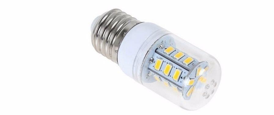 Lampada De Led 12v 6w E27 P Bateria Painel Energia Solar  R$ 35,00