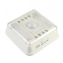 Lâmpada Led Com Sensor De Movimento E Luminosidade - 8 Leds