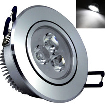 Kit Spot Super Led Lampada Direcionável 3w Para Teto Gesso !
