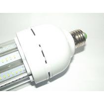 Lampada De Led Residêncial E27/ 24w Econômica Branco Frio