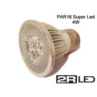 Lâmpada Par16 3w Super Led - Cores Amarela Ou Branca