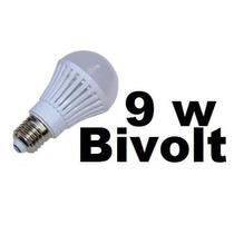 Lampada Led 9w Bulbo E27 90% Mais Econômico Equivale 80w