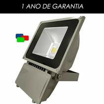 Refletor De Led - Verde/azul/vermelho 100w - Ip65