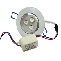 Kit 10 Lampada Dicroica Spot Super Led 3w C/ 3 Led 1w Cada