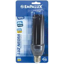 Lampada Fluorescente Negra 25w 220v Empalux