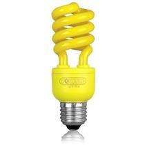 Lampada Fluorescente Economica Colorida Foxlux Amarelo