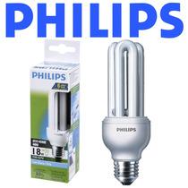 12 Lâmpadas Philips Eletrônica Fluorescente 18w Branca 127v