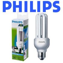 12 Lâmpadas Philips Eletrônica Fluorescente 23w Branca 127v
