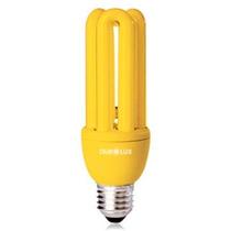Lampada Anti Inseto Compacta Amarela 20 Watts 110 Ou 220v