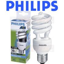 12 Lâmpadas Philips Eletrônica Espiral 20w Branca 220v