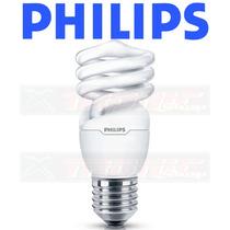 12 Lâmpadas Philips Eletrônica Espiral 23w Branca Fria 127v