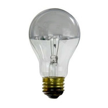 Sunlite 100w 120v Prata Tigela E26 Incandescent Luz Bulb