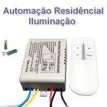 Iluminação Led Automação Casa Controle Remoto Lâmpada Lustre