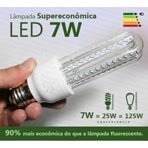 Lâmpada Led 7w Super Econômica Branca 6000k E27 Bivolt