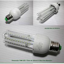 Lâmpada Led 16w Super Econômica Branca 6000k E27 Bivolt