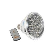 Lampada Emergencia C/ 22 Led Soque E27 Com Controle Remoto