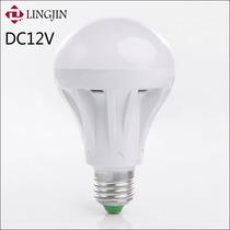 Lâmpada Led 12v 7w E27 Bulbo Energia Solar
