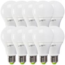 Kit 20 Lampada Led 7w Bulbo Soquete E27 Bivolt Casa Comercio