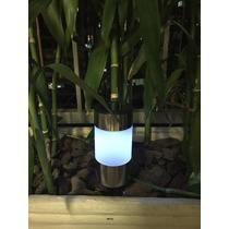Lâmpada Led De Jardim - Luz Solar - Nova Na Caixa!