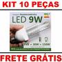 Kit 21pças 10lamp.9w+5l12w+3l16w+2microsd16gb+01microsd32gb