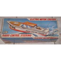 Electric Motor Cruiser - Controle Remoto - Anos 80