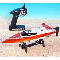 Lancha Racing Flipped Boat 4ch 2.4ghz Rc Rtr Ft009 Nautimode