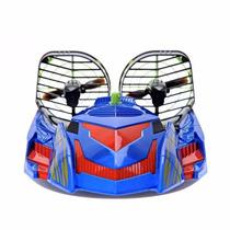 Lancha Carrinho Barco Controle Remoto Hover Racer Dtc - Azul