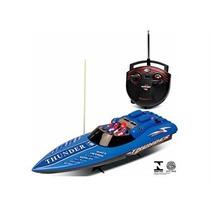 Miniatura Lancha De Corrida Aqua Thunder Controle Remoto Dtc