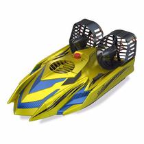 Lancha Carrinho Barco Controle Remoto Hover Racer Dtc Verde