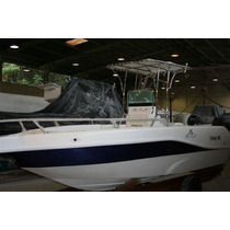Lancha Sea Crest Fishing 185 Evinrude E-tech 90 Hp Dpl 2015