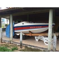 Lancha 19,5 Pés - Motor Mariner 115hp Com Carreta Rodoviária