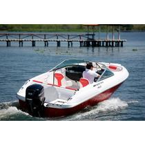 Lancha Mestra 180 Com Motor De Popa Evinrude E-tec 60 Hp