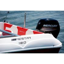 Lancha Mestra 180 Com Motor De Popa Evinrude E-tec 90 Hp