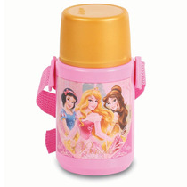Garrafa Térmica Princesas Disney Original Dermiwil