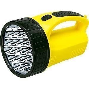 Lanterna Holofote Lampiao Recaregavel 19 Leds Super Forte