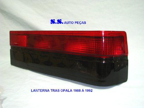 Lanterna Traseira Sinaleira Opala 88 89 90 91 92 Fume