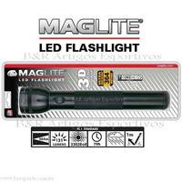 Super Promoção Lanterna Maglite Led Preta 3 Pilhas D