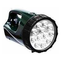 Lanterna Tocha Guepardo Recarregável 12 Led 1500 Velas Pesca