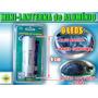 Mini Lanterna Alumínio 9 Leds Prata/preta Frete Grátis