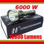 Lanterna Tatica Hy-6004 - 6000w 16800 Lumens Led Xml T6