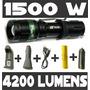 Lanterna Led Cree5 Tática Police Hy-8455 1500w 4200 Lumens