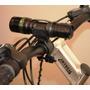 Kit Lanterna Tática 20.000 W + Suporte Para Bike Noturno