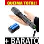 Lanterna Tatica T6 Cabo Longo 2 Baterias Frete Grátis Brasil