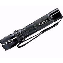Lanterna De Choque Police Recarregavel Led Cree Q6 58000w